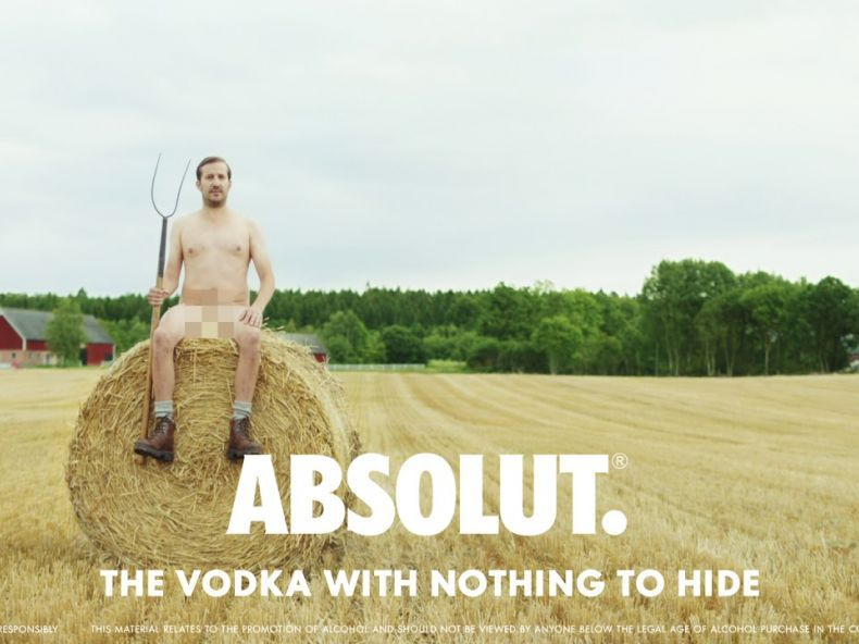 The Vodka With Nothing to Hide